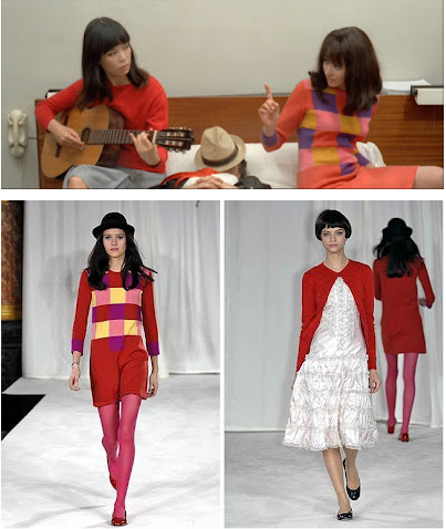 Anna Karina Agnes B fashion